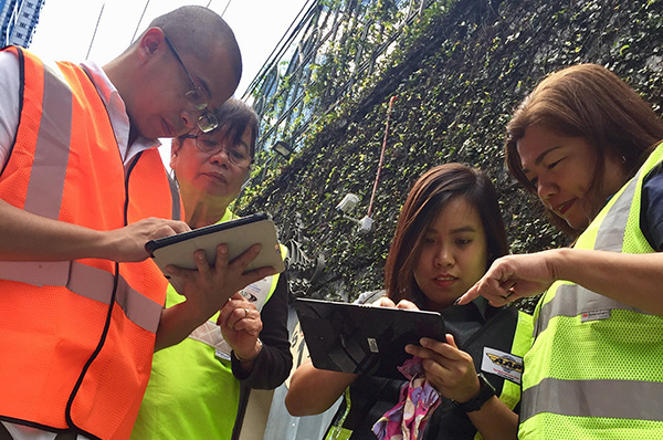 Recent SR4S assessment training in Philippines