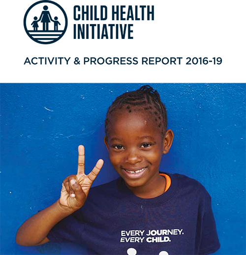 Child Health Initiative release an Activity & Progress report 2016 – 2019