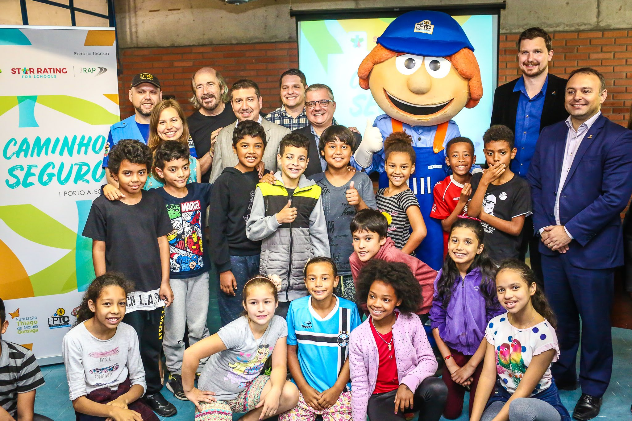 Thiago Gonzaga Foundation leads first Brazilian project with SR4S