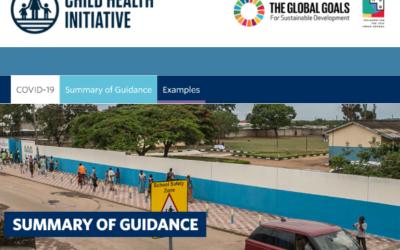 Recurso de UNICEF y CHI: Orientación para viajes seguros y saludables a la escuela (COVID-19 y más allá)