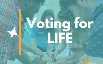 """Fundación Thiago Gonzaga presenta """"Votar por la vida"""""""