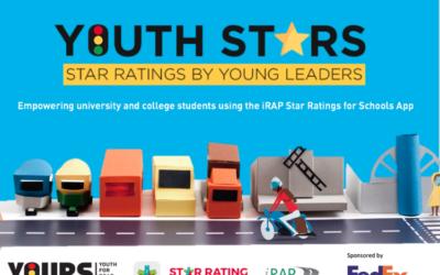 Youth Stars empodera a líderes juveniles para promover viajes más seguros a la escuela