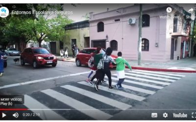 Video de la Fundación Gonzalo Rodríguez destaca resultados de zonas escolares más seguras en Uruguay