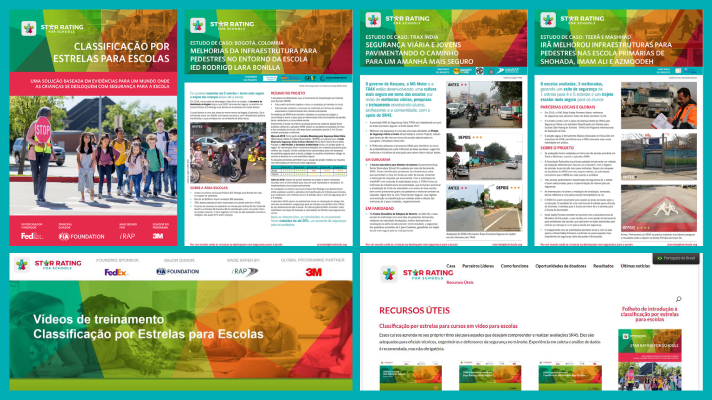 SR4S useful resources (training series and case studies) now accessible in Portuguese