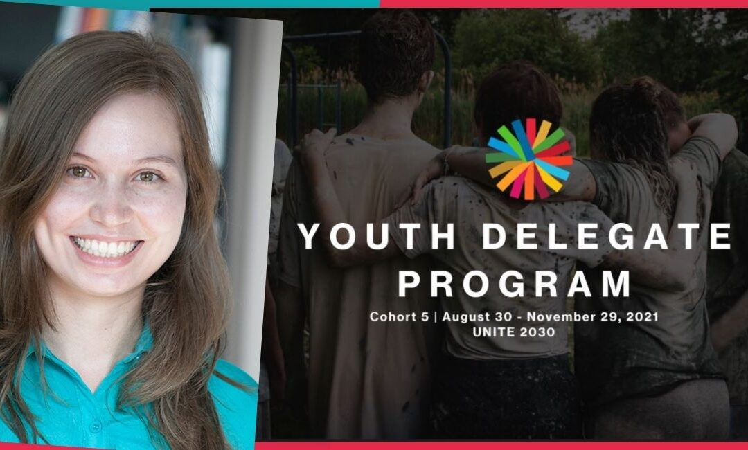 SR4S Global Programme Coordinator selected to join the Youth Delegate Program of UNITE 2030